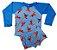 Blusa Uv + Sunga Infantil Proteção Solar Fator 50 Kit- Homem de Ferro - Imagem 1