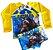 Blusa Uv + Sunga Infantil Proteção Solar Fator 50 Kit - Batman 2 - Imagem 1