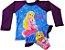 Kit Praia Menina Infantil Blusa Uv+ Calcinha Fator 50 - Barbie - Imagem 1