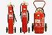 Extintor Pó Químico bc 20 kg - sobre rodas - Imagem 1