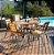 Conjunto  Mesa de Jardim  com 4 Cadeiras em Eucalipto Pressa - Imagem 1