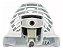 MOTOR VENTILADOR GELADEIRA CONTINENTAL COMPLETO COM CARENAGEM 110/220V - Imagem 1