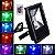 Refletor Holofote Led RGB 30w Bivolt com controle - Imagem 1
