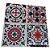 Adesivos de azulejo 3d mosaico 13x13cm 4 peças por kit chile 0905 - Imagem 1