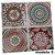 Adesivos de azulejo 3d mosaico 13x13cm 4 peças por kit chile 0905 - Imagem 5
