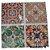 Adesivos de azulejo 3d mosaico 13x13cm 4 peças por kit chile 0905 - Imagem 4