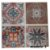 Adesivos de azulejo 3d mosaico 13x13cm 4 peças por kit chile 0905 - Imagem 3