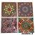 Adesivos de azulejo 3d mosaico 13x13cm 4 peças por kit chile 0905 - Imagem 2