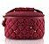 Porta Jóia Bella Donna em Matelassê vinho Jacki Design - Imagem 1