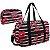 Bolsa feminina com necessaire Bossanova preto Jacki Design - Imagem 1