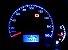Lâmpada de Led Azul T5 B8.5 5050 Para Painel De Carro - Imagem 3