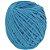 Cordão de Algodão Torcido São Francisco Azul Turquesa 120 m - Imagem 1