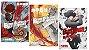 Blood Blockade Battlefront - Volumes 01 ao 03 (Itens novos e lacrados) - Imagem 1