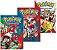 Pokémon Ruby & Sapphire - Volumes 01, 02 e 03 (Itens novos e lacrados) - Imagem 1