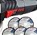 Esmerilhadeira SKIL 9004 C/5 Discos - Imagem 3