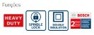Lixadeira Angular Bosch GWS 22 U 2200W 220V - Imagem 2