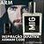 Perfume Arm Inspirado no Armani Code 50 ml - Imagem 1