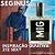 Perfume Seginus Inspirado no212 Sexy 50 ml - Imagem 1