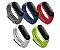Kit 05 Pulseiras extras para MI Band 4 (Cinza/Azul marinho/Vermelho/Branco/Verde claro (ou escuro) - Imagem 1