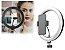 Iluminador de Led Ring Light 26cm 10 Polegadas + Tripé 2,1m Para Selfies - Imagem 2