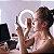 Anel De Luz de Led 16cm Usb Com Tripé Para Maquiagem Vídeo e Foto - Imagem 4