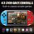 Mini Video Game Switch Portátil Tela FULL HD 1080P + 3000 Jogos - Imagem 2
