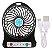 Mini Ventilador Portátil Usb Recarregável de 03 Velocidades - Imagem 3