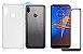 Kit capa anti shock + Película de vidro 3D Motorola E6s bordas pretas - Imagem 1