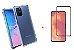Kit Capa Anti Shock + Película de Vidro 3D Samsung Galaxy S10 Lite 2020 Bordas Pretas - Imagem 1