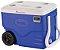 Caixa Térmica 38 Litros com Rodas PU Termômetro Max Min - Imagem 1