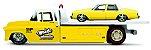 Caminhão 1957 CHEVROLET FLATBAD + 1987 CHEVROLET CAPRICE - DESIGN ELITE TRANSPORT  - Imagem 1