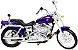 Miniatura Moto Harley Davidson Dyna Wide Glide FXDWG 2001 - Escala 1/18 - Maisto - Imagem 1