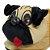 Pantufa 3D Pug - Imagem 5