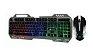 Kit Teclado Gamer + Mouse com fio KP-2054 - Knup - Imagem 2