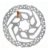 Disco de Freio Shimano SM-RT26 6 Furos Rotor 160MM - Imagem 1