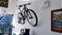 Suporte de Parede Horizontal p/ Bicicleta Preto - Imagem 2