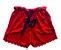 Shorts Vermelho com Cinto Azul Marinho Maria Filó - Imagem 1