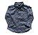 Camisa Manga Longa Azul Baby Gap - Imagem 1