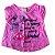 Blusa Vermelha Menina Mineral Kids - Imagem 1