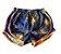Shorts Azul e Laranja Nike - Imagem 1