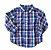 Camisa Manga Longa Xadrez Gymboree - Imagem 1