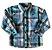 Camisa Xadrez Tons de Verde Up Baby - Imagem 1