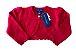 Casaquinho Ralph Lauren Infantil Vermelho em Tricô (Etiqueta) - Imagem 1