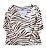 Blusa Fucsia Feminina Areia com estampas em Malha - Imagem 1