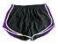 Shorts Nike Feminino Preto e Roxo - Imagem 1