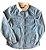 Camisa CHICCO Infantil Jeans com Gola Dourada - Imagem 1