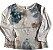 Camiseta Zara Infantil Manga Longa Borboleta - Imagem 1