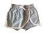Shorts CHICCO Preto e Branco Listrado - Imagem 1