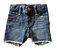 Shorts Jeans baby GAP Escuro Desfiado - Imagem 1