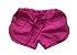 Shorts MINI VIDA Infantil Rosa Tactel - Imagem 1